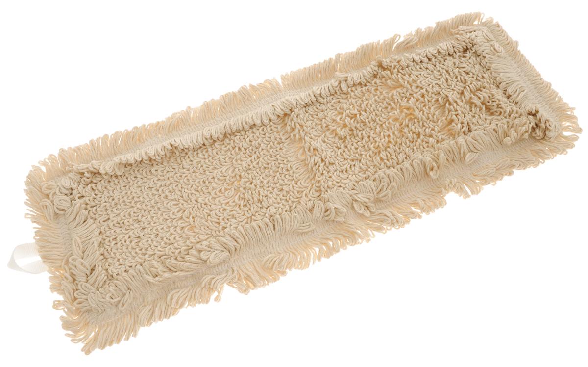 Сменная насадка для швабры Hausmann Eco-perfect, цвет: бежевый, 45 х 13 см насадка сменная apex girello eco для швабры цвет белый