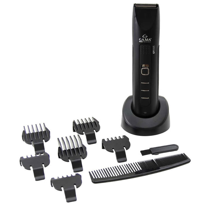 Триммер для бороды и усов GA.MA GT 555, Black