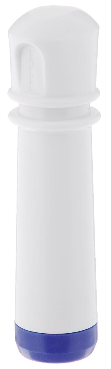 """Насос вакуумный для контейнеров """"Microban"""", цвет: белый, синий"""