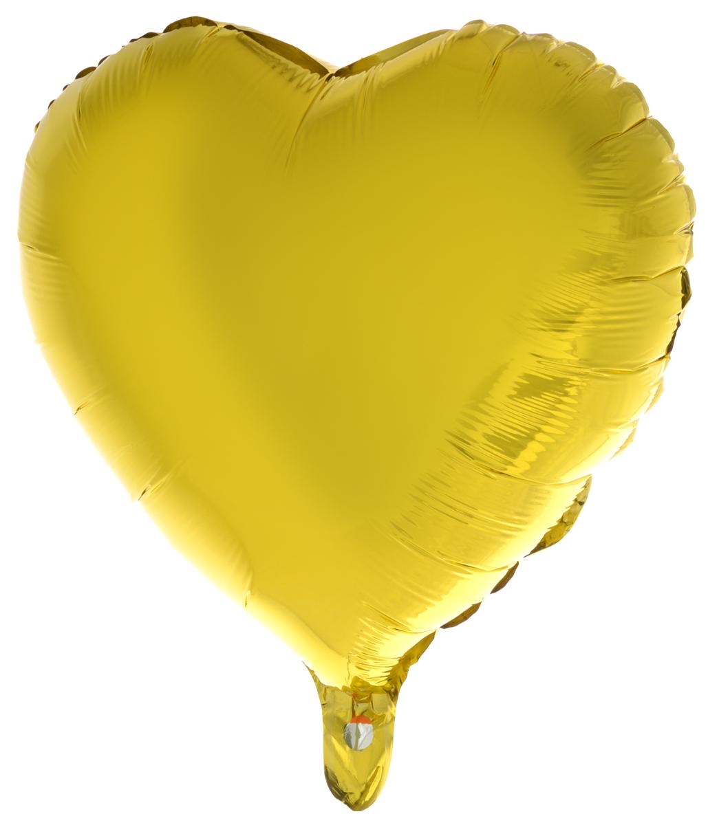 Action! Шар фольгированный Сердце цвет в ассортименте action шар фольгированный на палочке мотоцикл