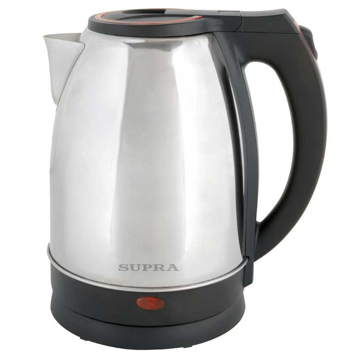 где купить Электрический чайник Supra KES-2231, Steel Red дешево