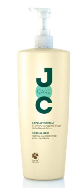 Barex Шампунь для нормальных волос Белая Кувшинка и Крапива Joc Care Shampoo Capelli Normali Ninfea Bianca and Ortica, 1000 мл