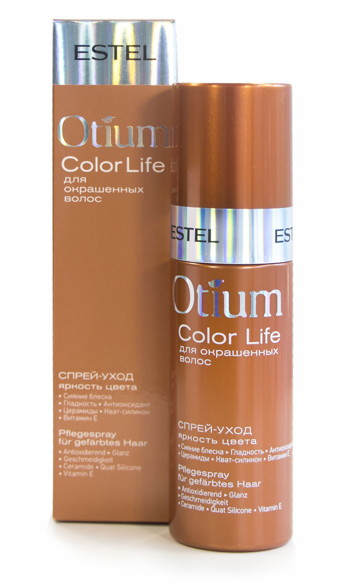 Estel Otium Blossom - Спрей-уход для окрашенных волос
