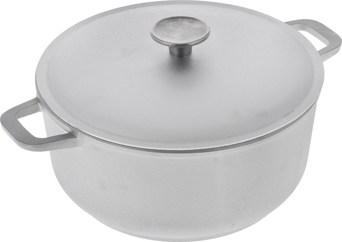 Кастрюля Биол с крышкой, 4 л кастрюля с крышкой сковородой биол 4 л к402