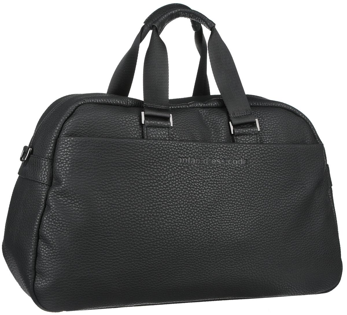 165339930797 Сумка дорожная Antan, цвет: черный, графитовый. 2-246 — купить в  интернет-магазине OZON.ru с быстрой доставкой