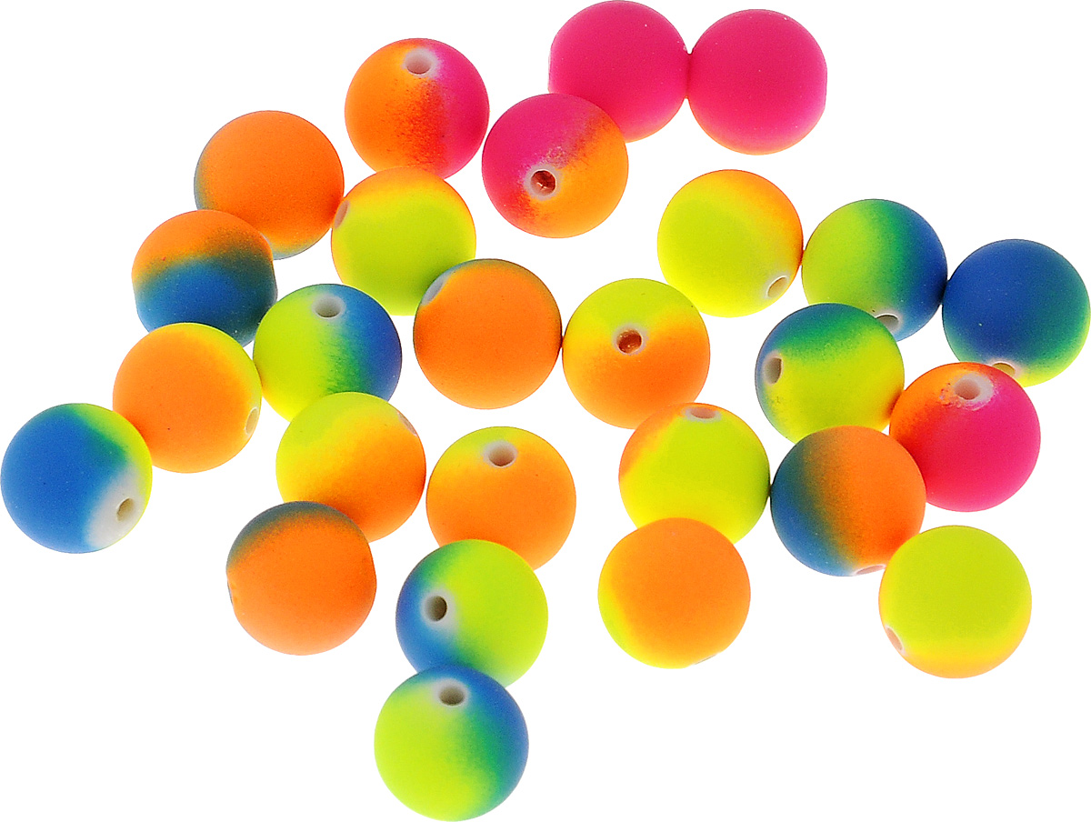 Бусины бархатные Астра, цвет: желтый, синий, розовый, диаметр 12 мм, 27 шт цена