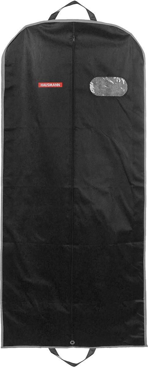 Чехол для одежды Hausmann, подвесной, с прозрачной вставкой, цвет в ассортименте, 60 х 140 х 10 см цена в Москве и Питере