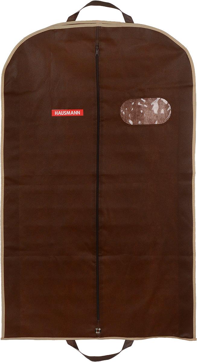 Чехол для одежды Hausmann, подвесной, с прозрачным окошком, цвет в ассортименте, 60 х 100 х 10 см цена в Москве и Питере