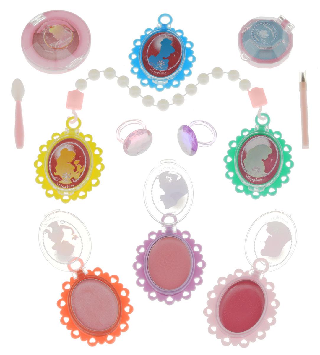 Markwins Косметический детский набор блесков для губ Принцессы Диснея Очаровашка markwins набор детской косметики в книжке принцессы диснея