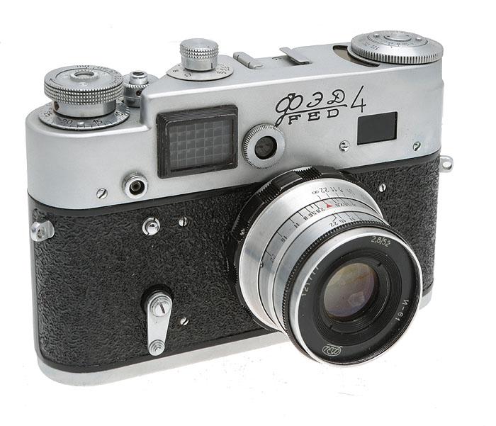 сколько стоит старый фотоаппарат фэд применяется