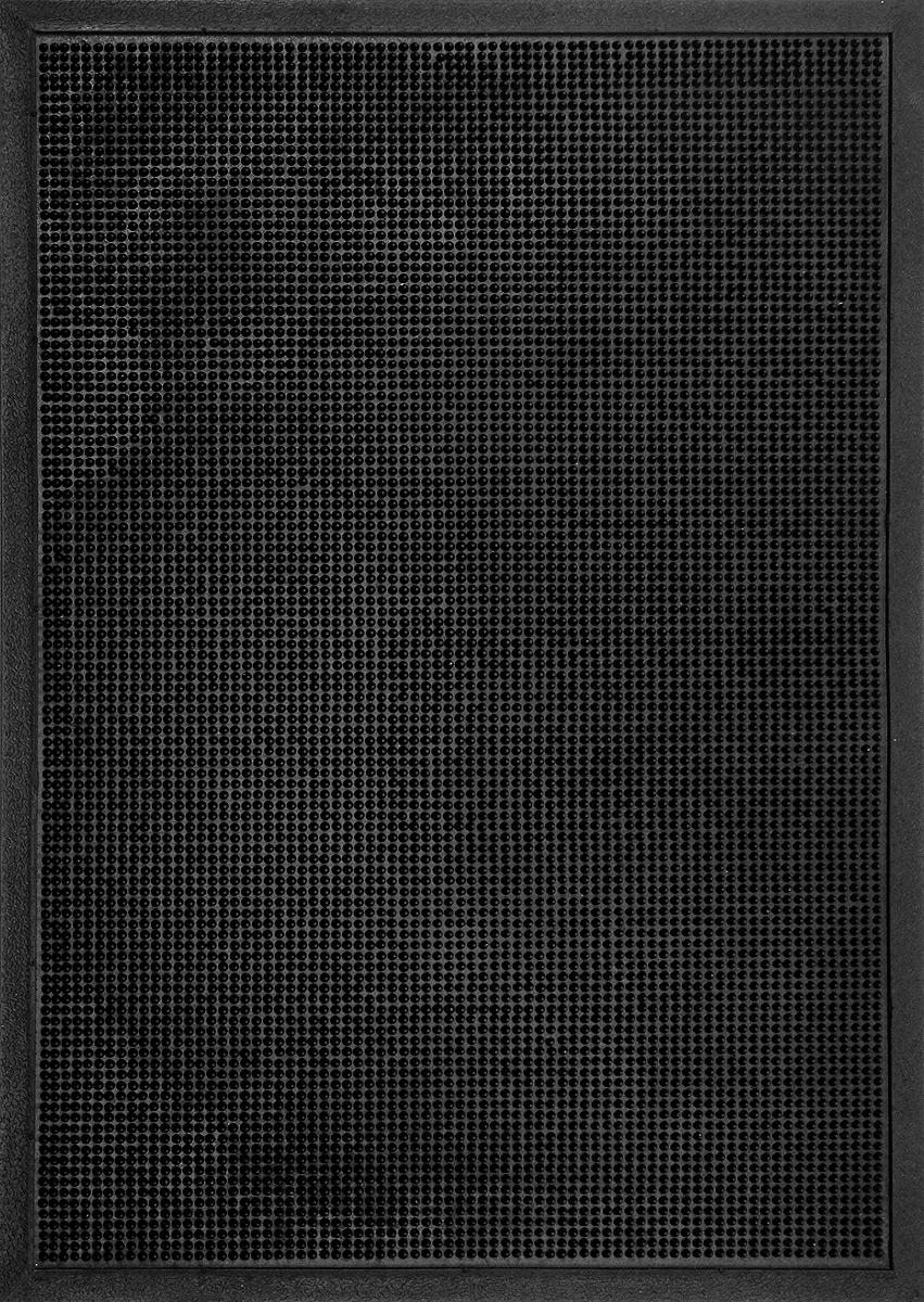 Коврик придверный SunStep Иголочки, резиновый, 90 х 60 см коврик придверный sunstep spongy welcome цвет серый 90 х 60 см
