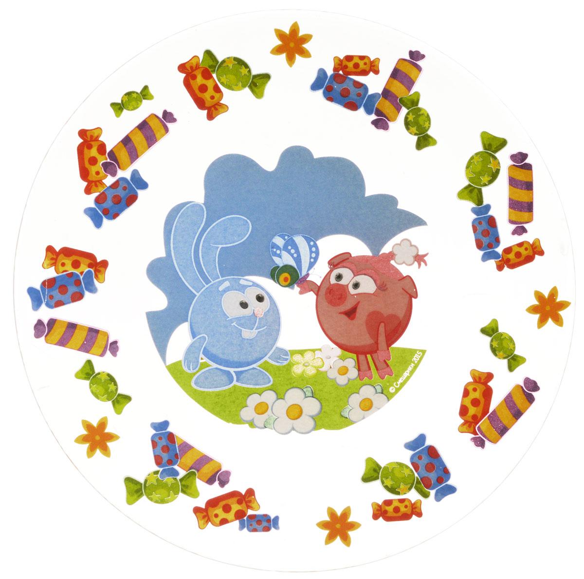 Смешарики Тарелка детская Конфеты диаметр 19,5 см смешарики тарелка детская конфеты диаметр 19 5 см