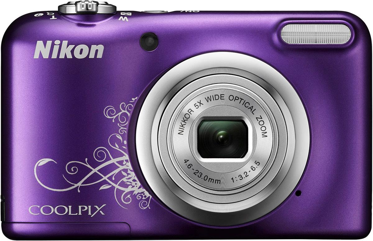 Nikon CoolPix A10, Purple цифровая фотокамера