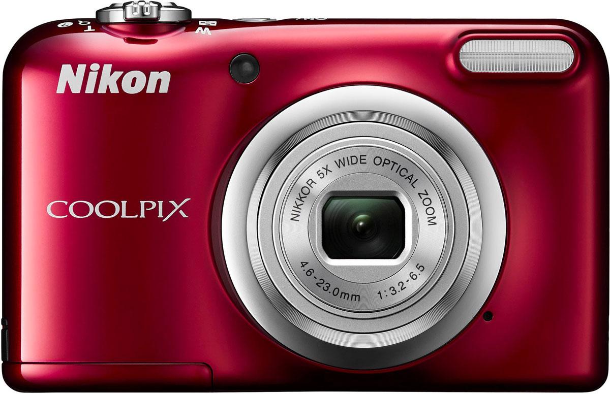 Компактный фотоаппарат Nikon CoolPix A10, Red