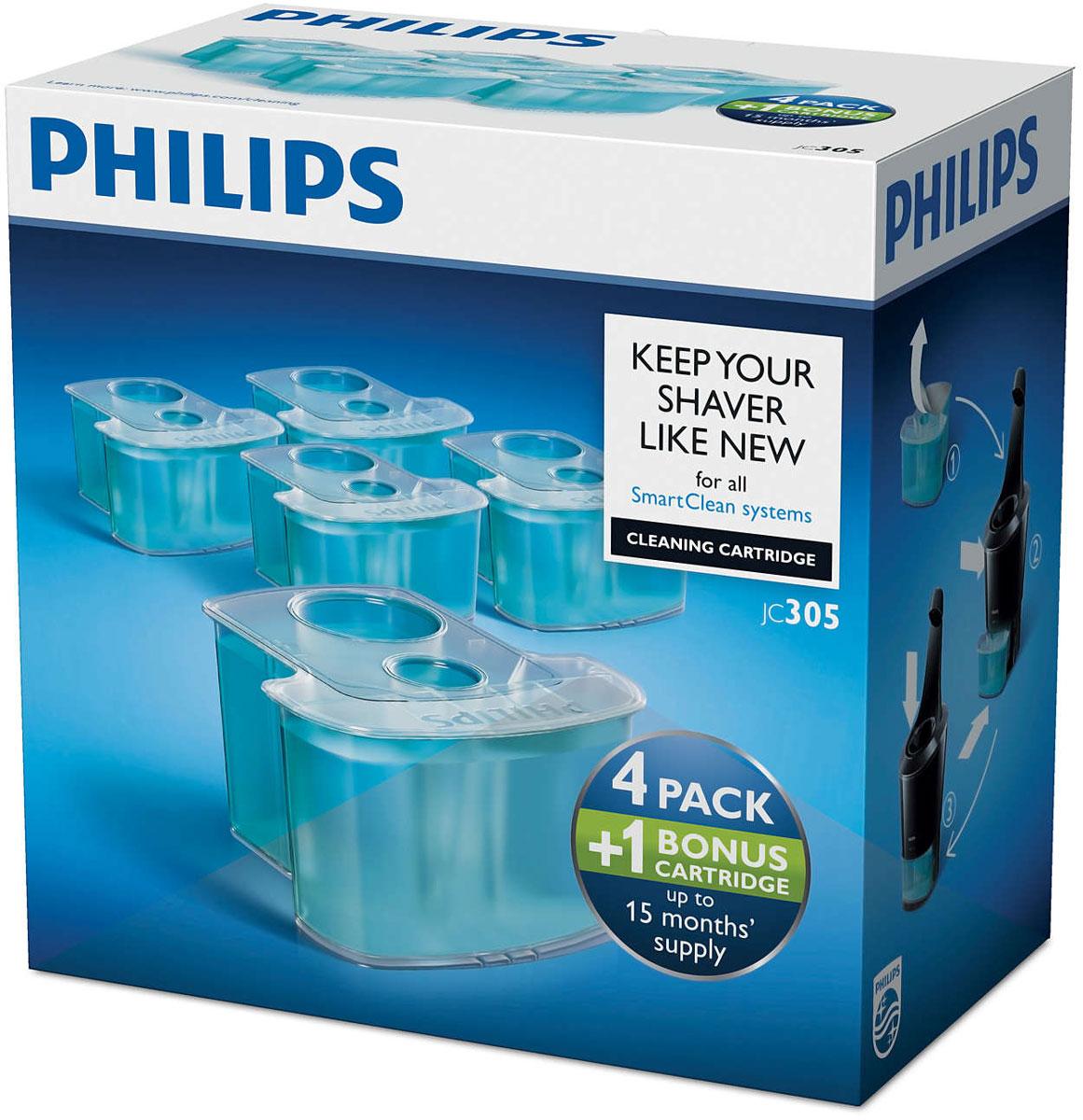 Philips JC305/50картридж для очистки электробритвы Philips