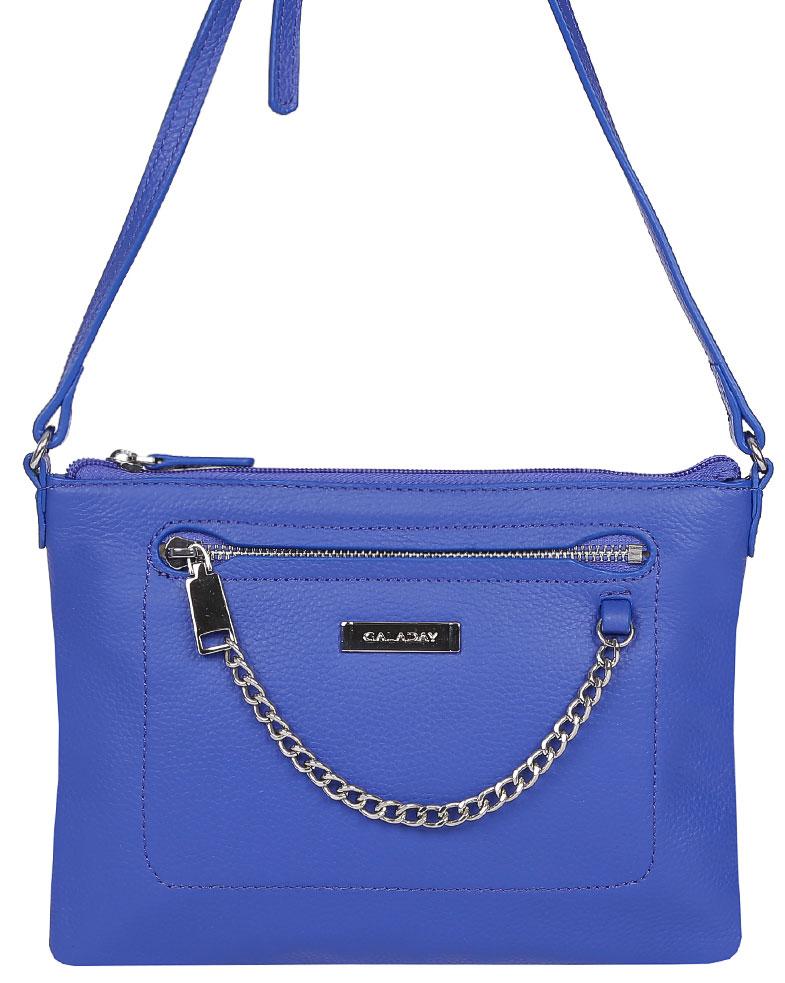 купить Сумка женская Galaday, цвет: синий. GD6006 по цене 6210 рублей