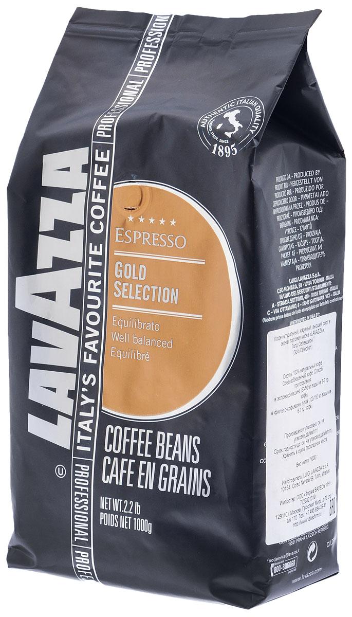 Lavazza Gold Selection кофе в зернах, 1 кг