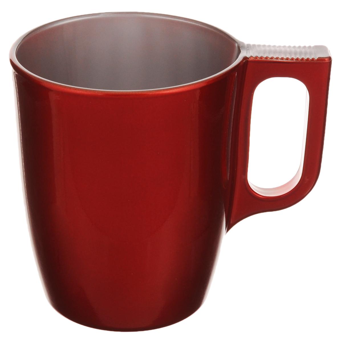 Кружка Luminarc Flashy Colors, цвет: красный, 250 мл цена