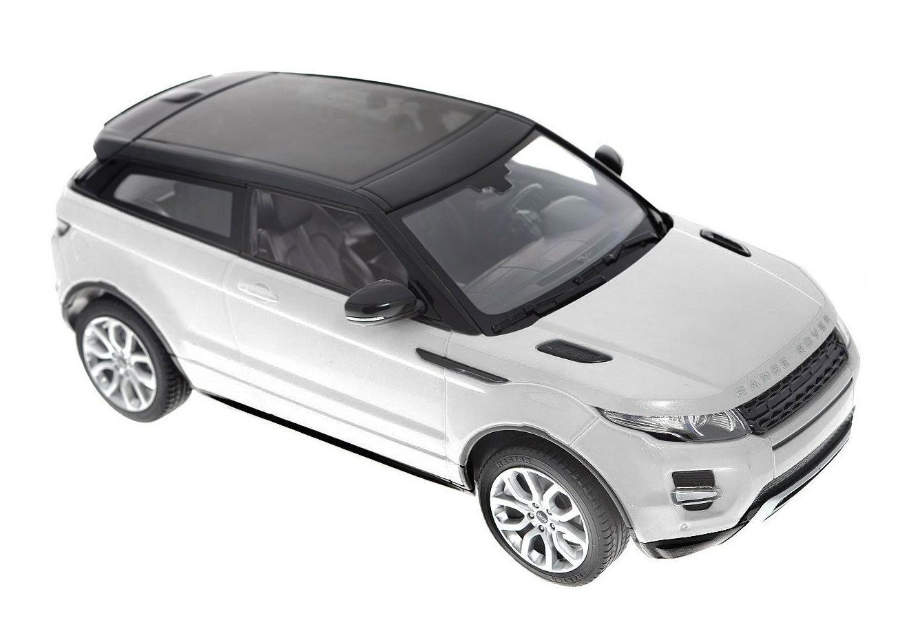 Rastar Радиоуправляемая модель Range Rover Evoque цвет белый rastar радиоуправляемая модель range rover sport цвет серебристый масштаб 1 14