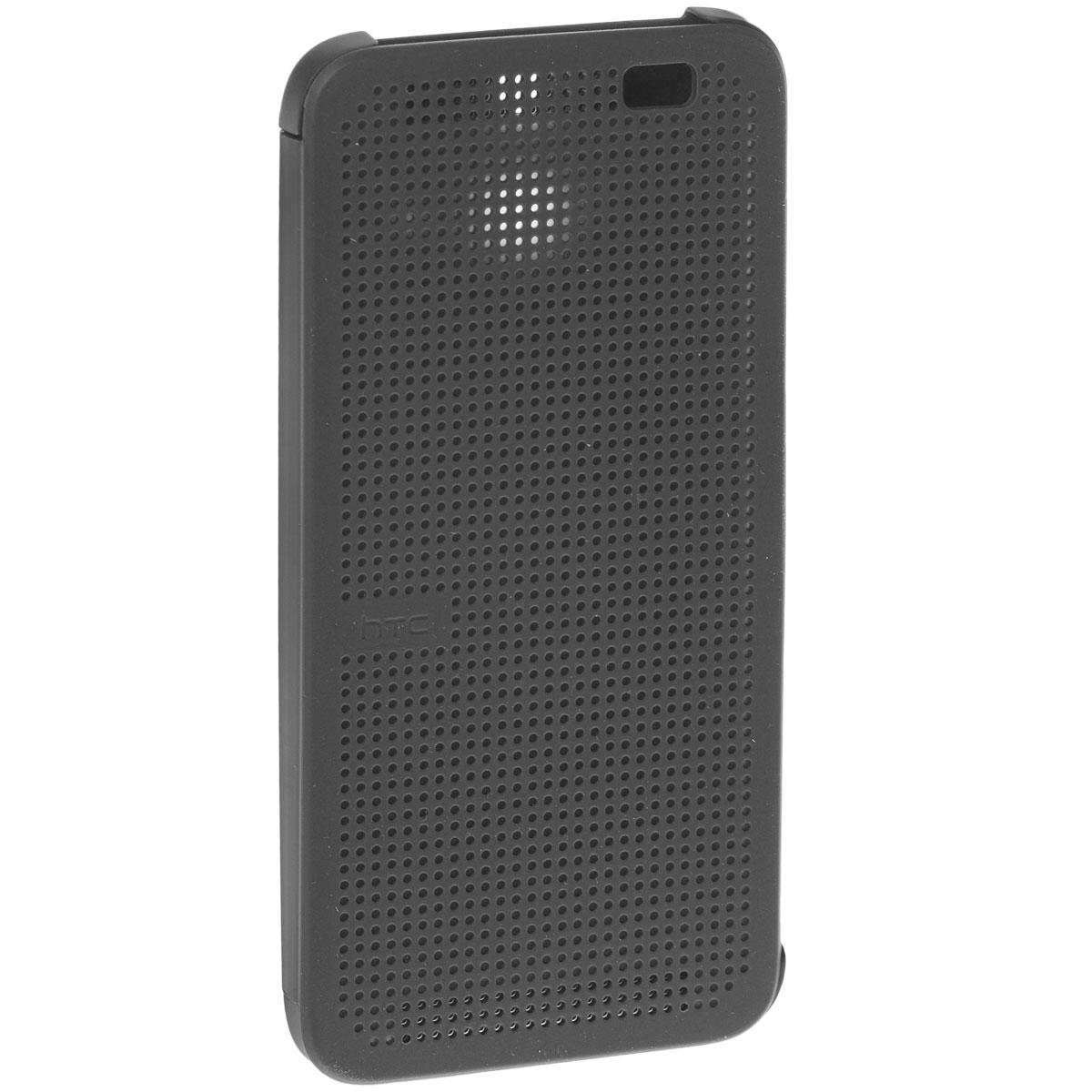 HTC HC M110 Dot Case чехол для One E8, Black чехол для htc one m9 htc dot pink розовый