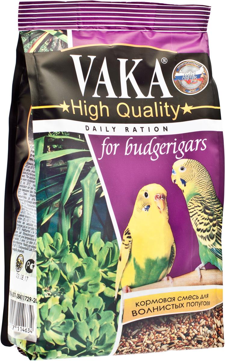 "Корм для волнистых попугаев Вака ""High Quality"", 500 г"