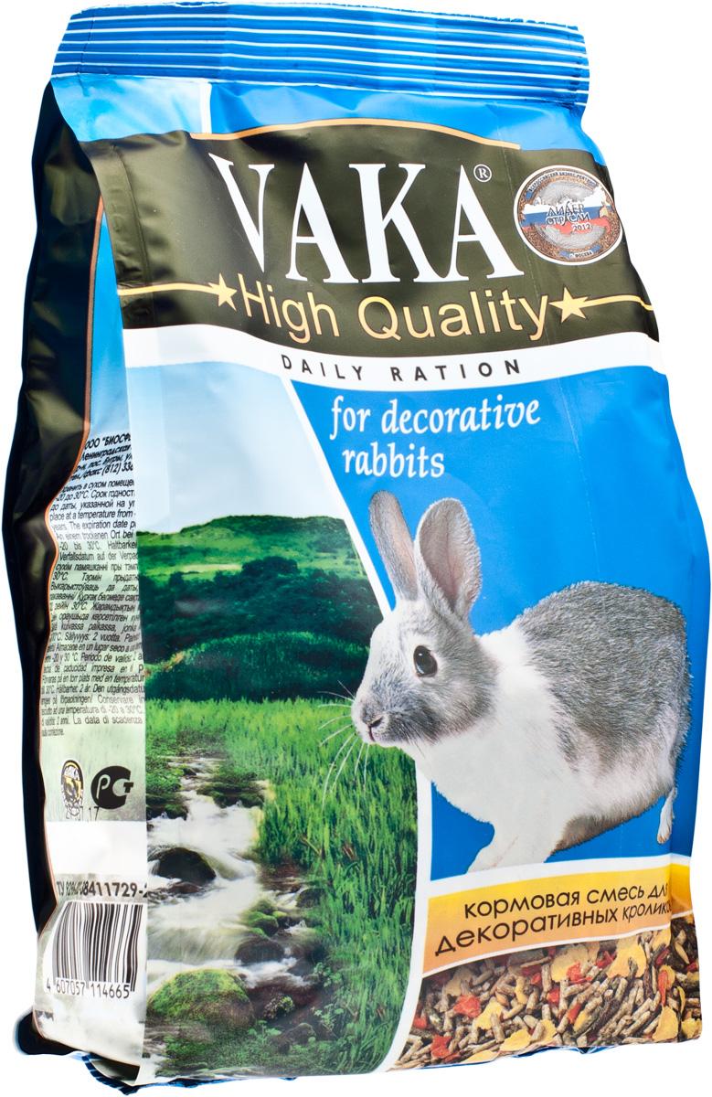 "Корм для декоративных кроликов Вака ""High Quality"", 500 г"