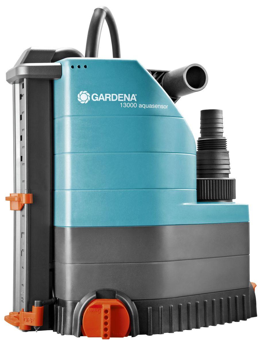 """Насос дренажный Gardena """"13000 Aquasensor Comfort"""", для чистой воды"""