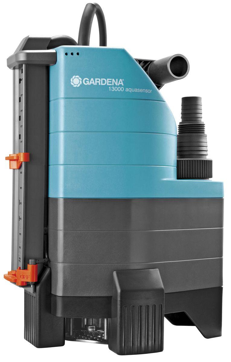 Насос дренажный Gardena 13000 Aquasensor Comfort, для грязной воды садовый насос gardena 13000 aqvasensor comfort дренажный [01799 20 000 00]