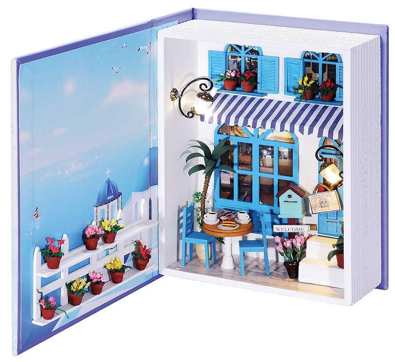 Набор для изготовления игрушки Белоснежка Кафе в Санторини мебель бу для кафе