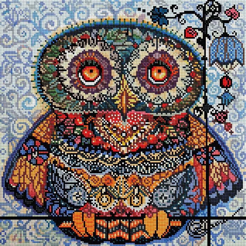 Набор для создания мозаики Белоснежка Волшебная сова набор для создания мозаики белоснежка бушующая стихия