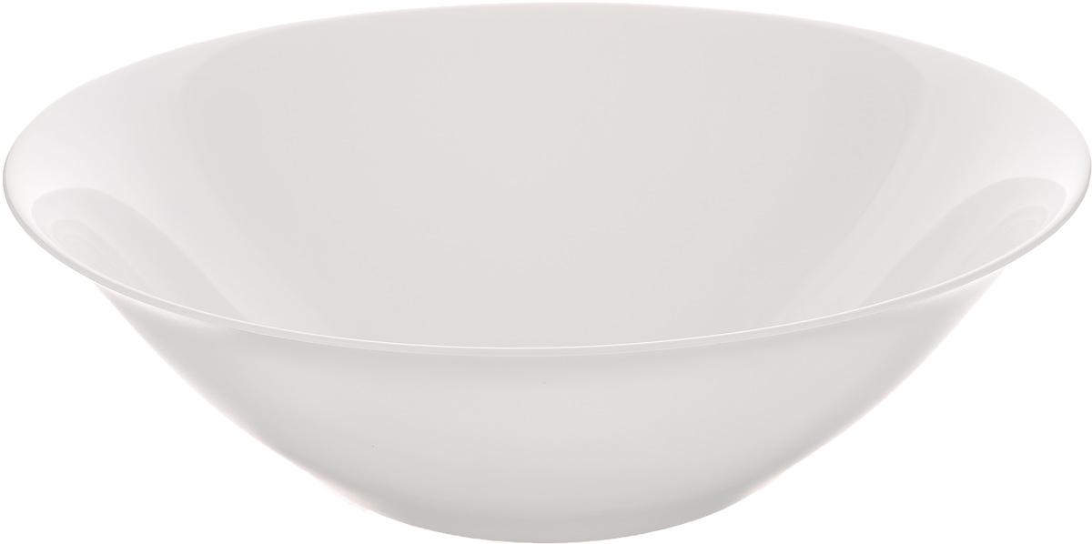 Салатник Luminarc Carine White, диаметр 27 см салатник luminarc carine white диаметр 12 см