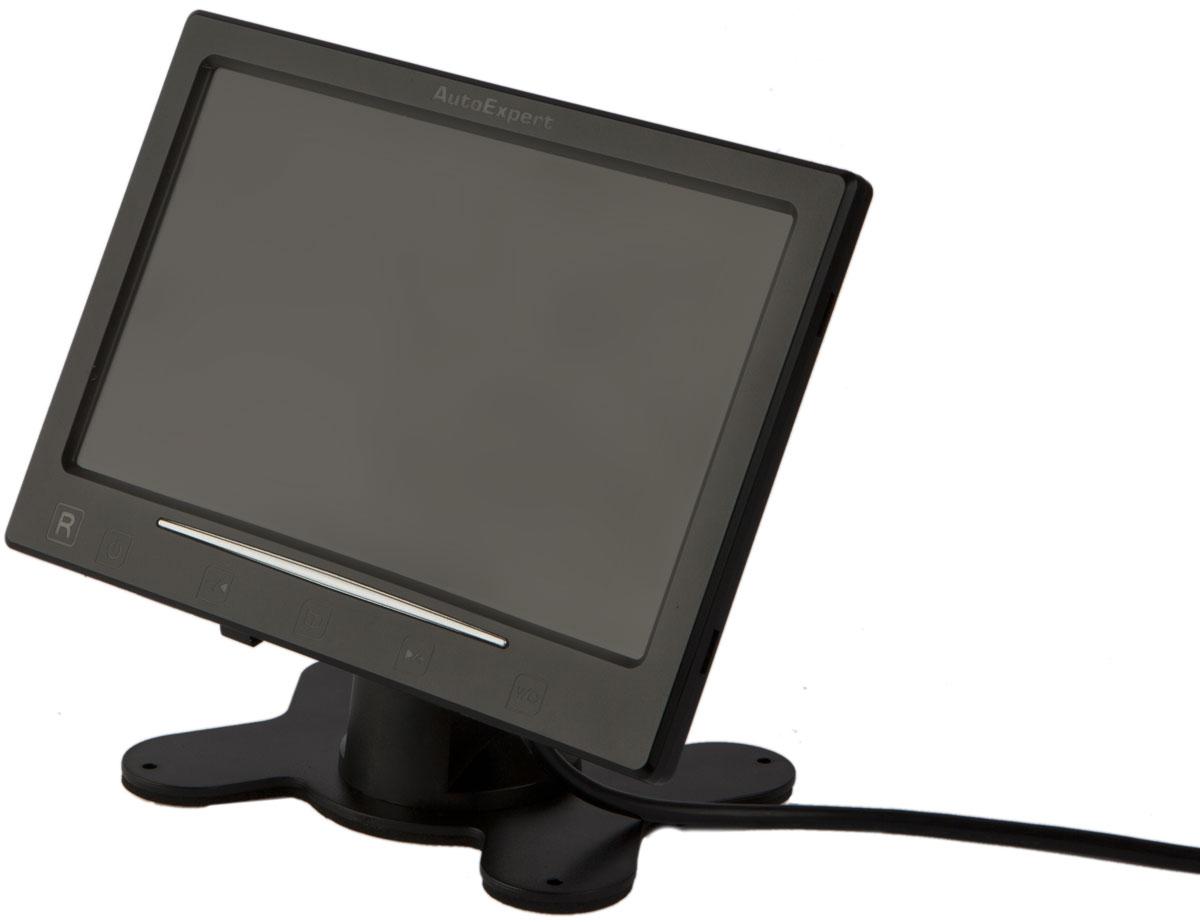 AutoExpert DV 755, Black автомобильный монитор с камерой заднего вида