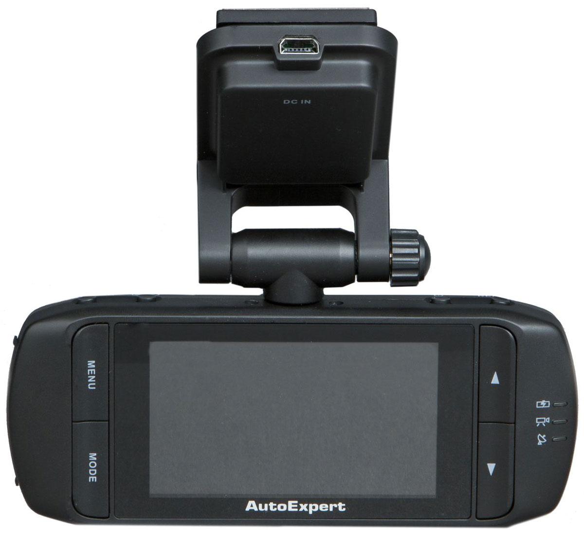 Фото - AutoExpert DVR 810, Black автомобильный видеорегистратор монитор в авто autoexpert dv 200