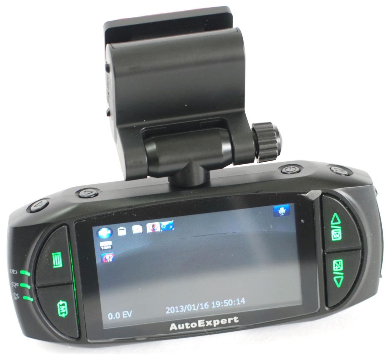 Фото - AutoExpert DVR 817, Black автомобильный видеорегистратор монитор в авто autoexpert dv 200
