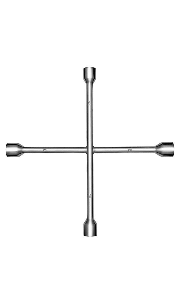 Ключ баллонный крестовой Kraft 17х19х21х22 Master КТ 700560