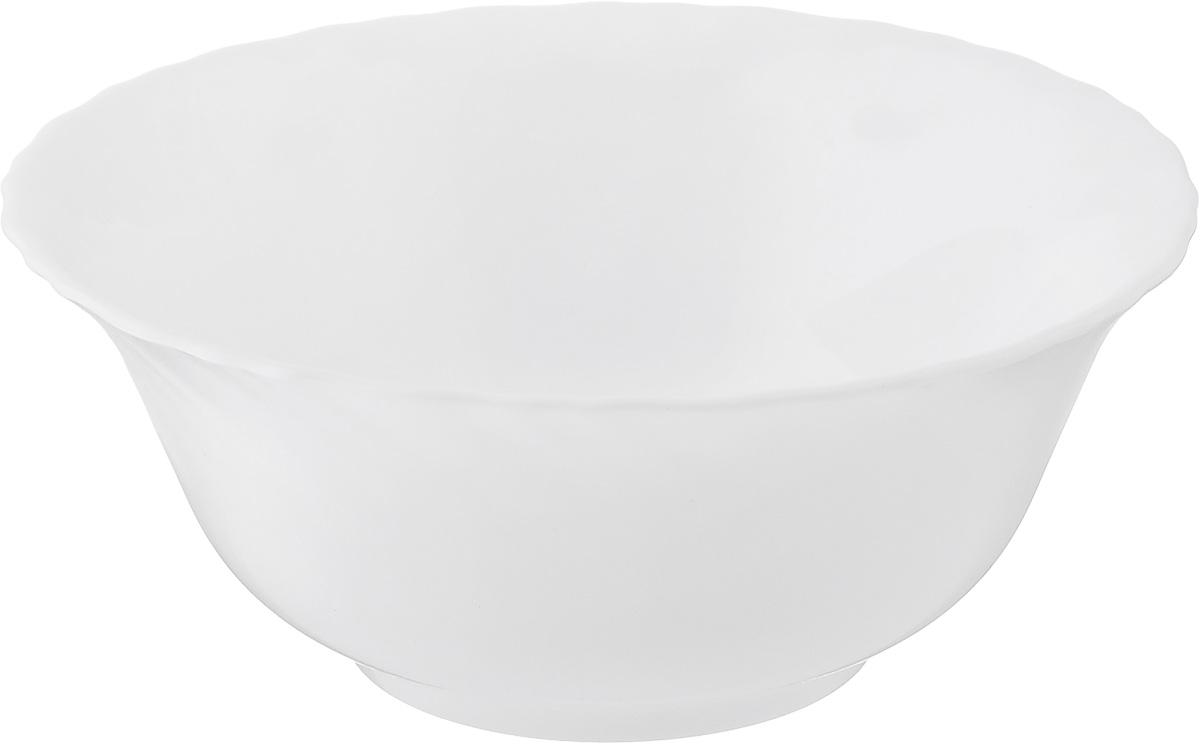 Салатник Luminarc Carine White, диаметр 12 см салатник luminarc космос 12см 0 6л стекло