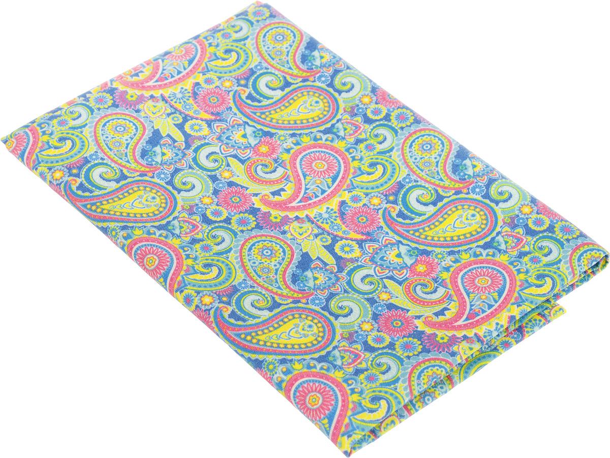 Ткань для пэчворка Артмикс Пейсли, цвет: розовый, синий, зеленый, 48 х 50 см сколько ткани нужно для пошива 2 х спального комплекта