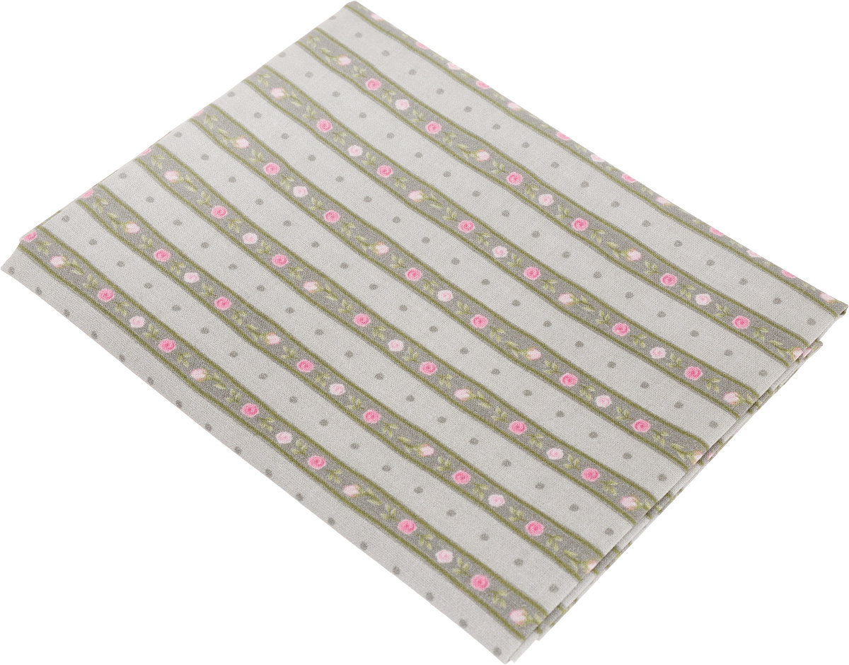 Ткань для пэчворка Артмикс Акварельные розочки, 48 х 50 см сколько ткани нужно для пошива 2 х спального комплекта