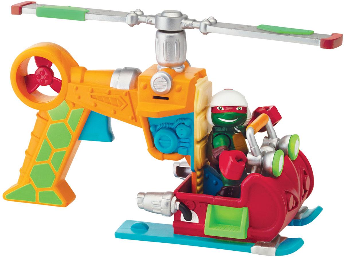 Черепашки Ниндзя Вертолет с фигуркой Рафа черепашки ниндзя мотоцикл с фигуркой фут ниндзя