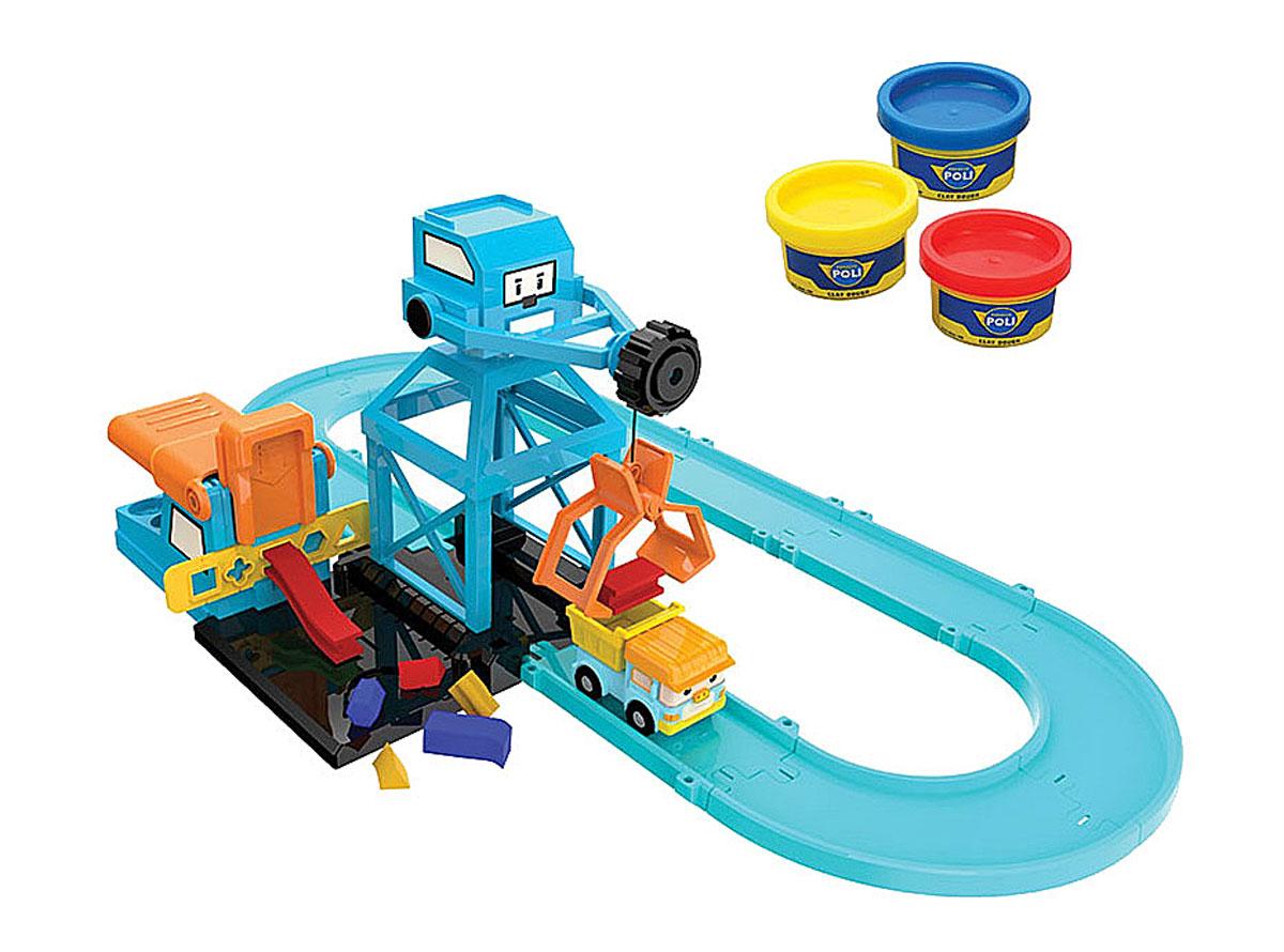 Robocar Poli Игровой набор Цементный завод robocar poli игровой набор перерабатывающая станция с фигуркой