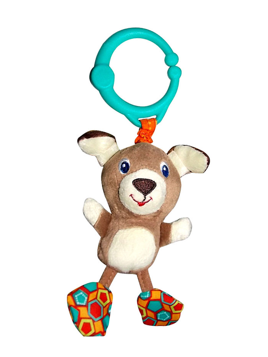 цена на Bright Starts Развивающая игрушка Дрожащий дружок Собачка
