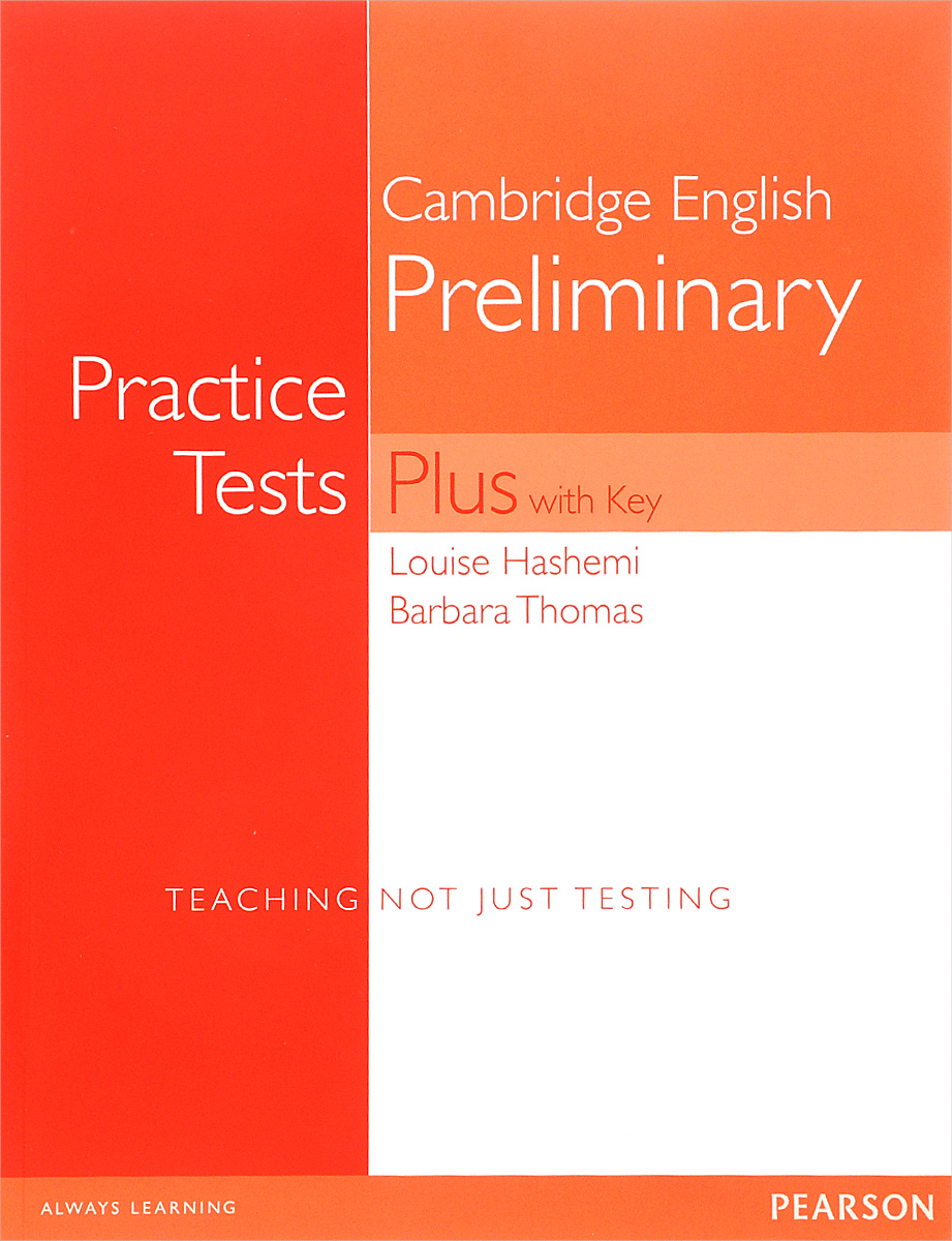 Фото - Cambridge English Preliminary: Practice Tests Plus with Key gre for dummies with online practice tests