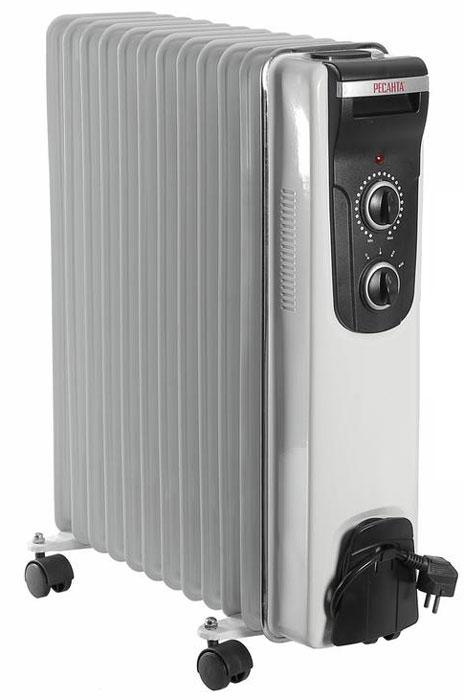 Ресанта ОМ-12Н (2,5 кВт) напольный радиатор ресанта ом 5н 1 квт напольный радиатор