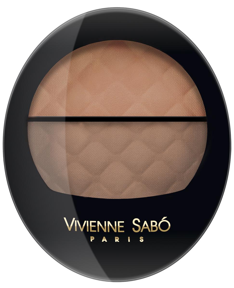 Vivienne Sabo Румяна Teinte Delicate, двойные, тон №12, 5 г румяна vivienne sabo rose de velours 22 цвет 22 variant hex name d2948b