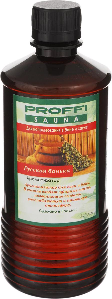 Ароматизатор для бани и сауны Proffi Русская банька, 500 мл для бани для души