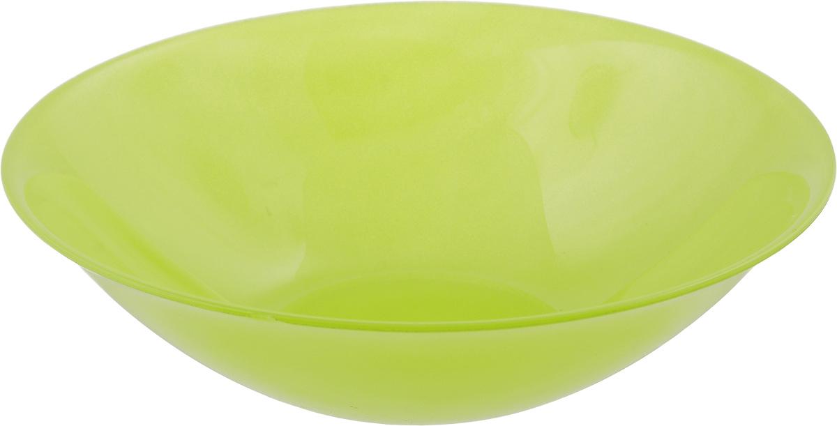 Миска Luminarc Arty Anis, цвет: салатовый, диаметр 16,5 см миска luminarc fizz lemon диаметр 16 см
