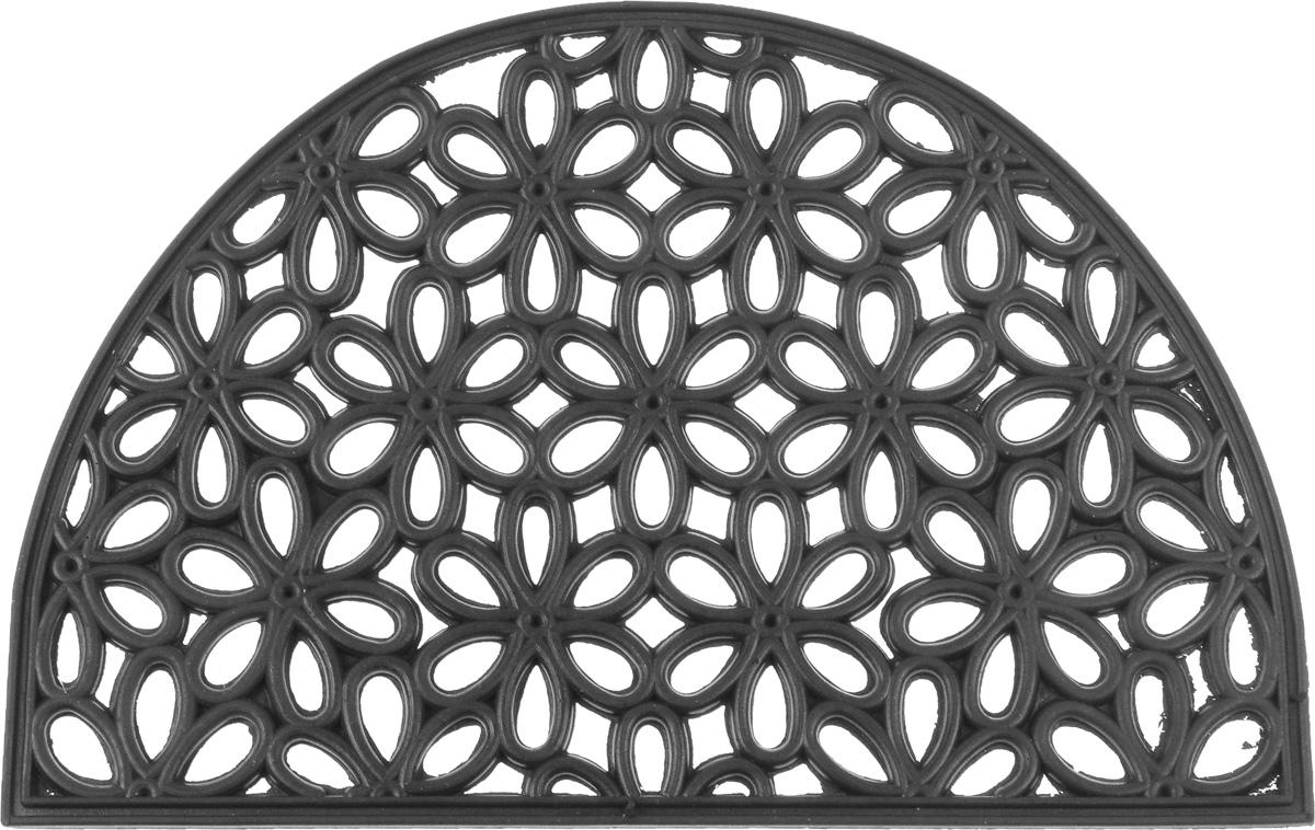 Коврик придверный SunStep Лепестки, 60 х 40 см коврик придверный sunstep ампир 60 х 40 см