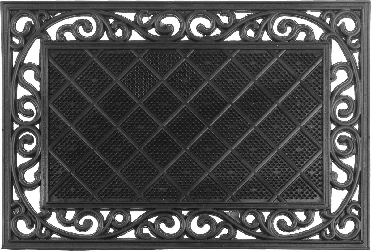 Коврик придверный SunStep Трианон, 60 х 40 см коврик придверный sunstep spongy welcome цвет серый 90 х 60 см