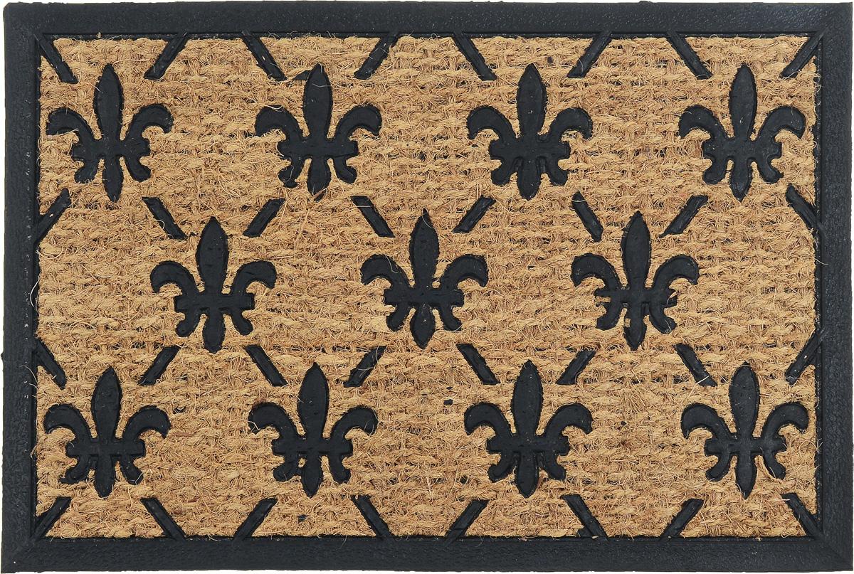 Коврик придверный SunStep Классический, 60 х 40 см коврик придверный sunstep ампир 60 х 40 см