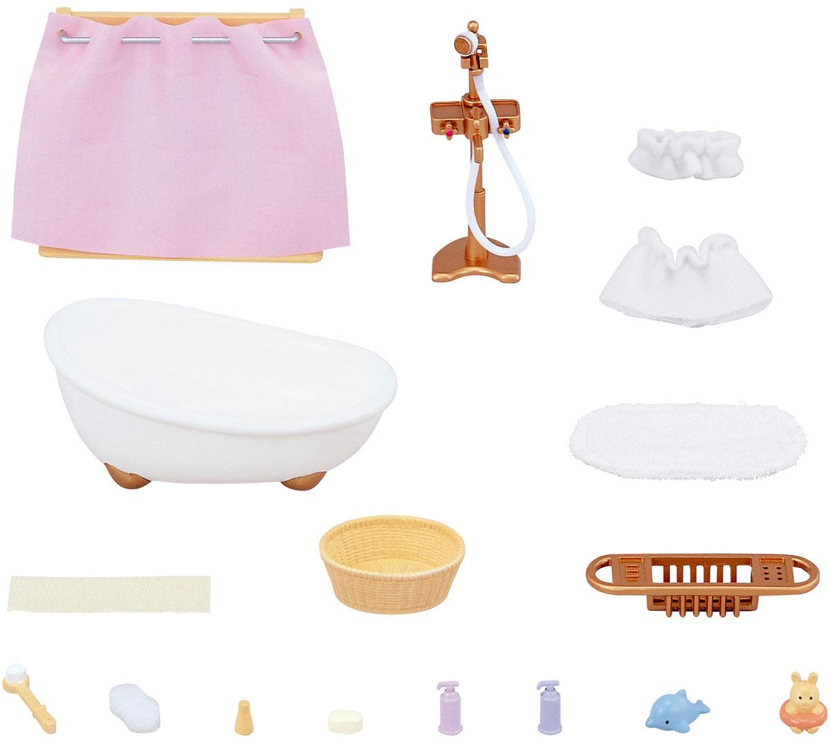цена Sylvanian Families Игровой набор Ванная комната с душем онлайн в 2017 году